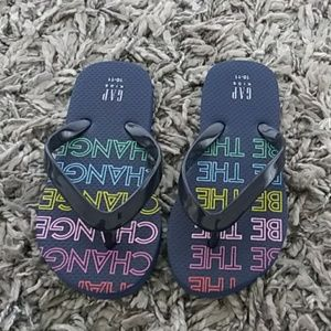 "GAP ""Be the Change"" Flip Flop"